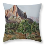 Utah Valley Throw Pillow
