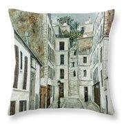 Utrillo: Limpasse, 1911 Throw Pillow