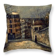 Utrillo: Mont-cenis Throw Pillow