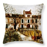 Utrillo: Montmagny, 1908-9 Throw Pillow