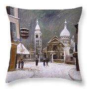 Utrillo: Montmartre, 1931 Throw Pillow