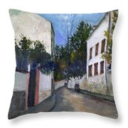 Utrillo: Sannois, 1912 Throw Pillow