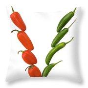 V-1 Throw Pillow