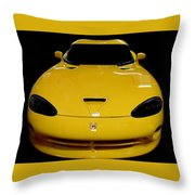 V Is For Viper Throw Pillow