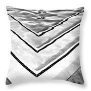 V Shape Palm Springs Throw Pillow