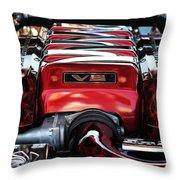 V8 Throw Pillow