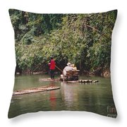 Vacation Paradise Throw Pillow
