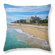 Vacation Visions Throw Pillow