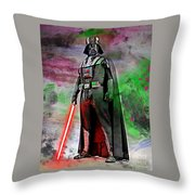 Vader Abstract Throw Pillow