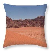 Vady Rum Dune Throw Pillow