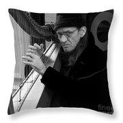 Vagrant Music Throw Pillow