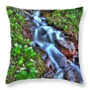 Vail Cascade Throw Pillow