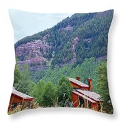 Vail Landscape Throw Pillow