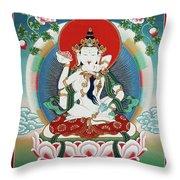 Vajrasattva Yuganadha  Throw Pillow