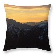 Val Brembana Throw Pillow