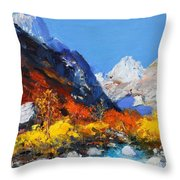 Valbona Throw Pillow