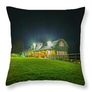 Valcour Conference Center Wedding And Meetings - Brighter Exposure Throw Pillow
