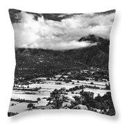 Valdez, New Mexico, April 17, 2016 Throw Pillow
