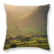 Vale Of Edale Throw Pillow