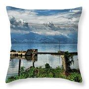 Valencia Lake Throw Pillow