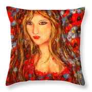 Valentina Throw Pillow