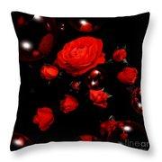 Valentine - Roses Throw Pillow