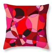 Valentine Dreams Throw Pillow