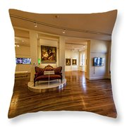 Valentine Richmond History Center 5020t Throw Pillow