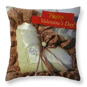 Valentines Card 1 Throw Pillow