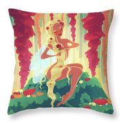 Valentine's Day Fairy Throw Pillow