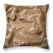 Valentine's Love Thought Throw Pillow