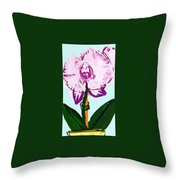 Valerie Is Awesome Throw Pillow