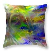 Veils Of Color 2 Throw Pillow
