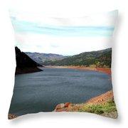 Vallecito Colorado II Throw Pillow