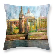 Valletta Icon Throw Pillow