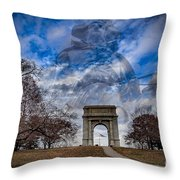 Valley Forge Throw Pillow