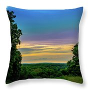 Valley Forge Views Throw Pillow