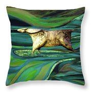 Valley Of Equus Throw Pillow
