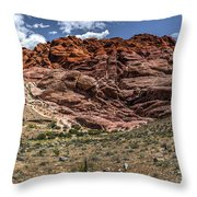 Valley Of Fire IIi Throw Pillow