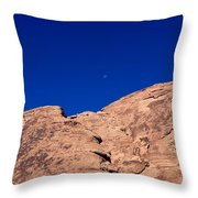 Valley Of Fire State Park Throw Pillow