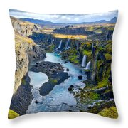 Valley Of Tears #2 - Iceland Throw Pillow