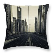 Valley Of The 11 Throw Pillow