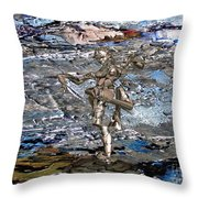 Valley Of The Dancing Zombie Throw Pillow