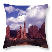 Valley Of The Gods 1964 Throw Pillow
