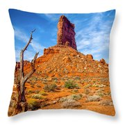Valley Of The Gods Throw Pillow