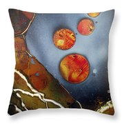 Valley Of The Moons Throw Pillow