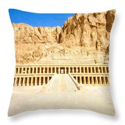 Valley Of The Queens Throw Pillow