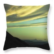 Valley Of The Shadow Throw Pillow