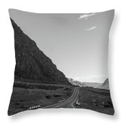 Valley Road Throw Pillow
