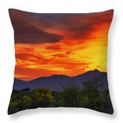 Valley Sunset H32 Throw Pillow